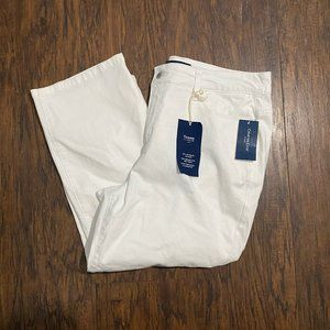 NWT Charter Club Plus Slimming Fit Cropped Jeans